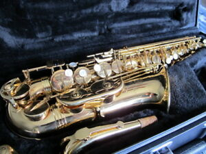 Jupiter Alto saxophone, model: JUP567GL, c/w hard case.