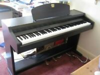 Yamaha Clavinova CLP-910 Digital Piano rosewood weighted keys 2 pedals, full size piano