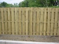 Wooden fencing and gates