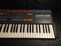ROLAND JUNO 106 - VINTAGE SYNTHESIZER SERVICED OCT'16