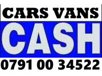 07910034522 WANTED CAR VAN FOR CASH BUY YOUR SCRAP SELL MY SCRAPPING T