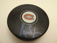 KEN DRYDEN Signed Montreal Canadiens Official NHL Puck GA-COA