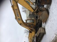 Excavator with 30year experience for hire Demolish Excavate Home