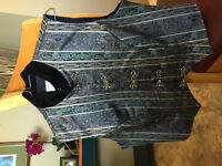 Quality Lady's Western Riding Show Vest