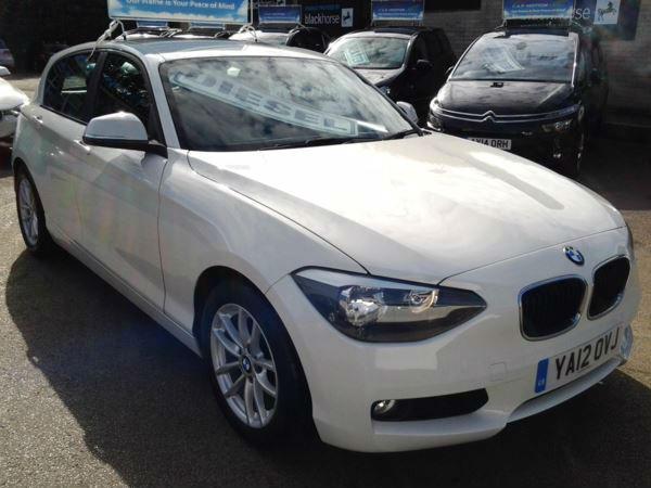 BMW 116d EfficientDynamics (SAT NAV)
