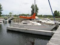 1978 Mirage 26 sailboat to swap for a travel trailer