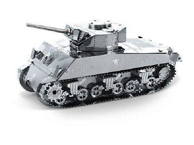 Sherman Tank Metal Earth 3d Laser Cut Miniature Model Kit