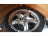 15inch League alloy wheels