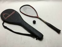 Head squash racket with cover,slim body 160 only £45,more rackets available,please call for details