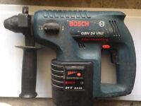 Bosch sds 24v hammer drill