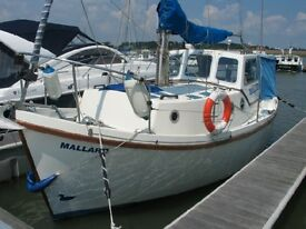 Nice Colvic Watson 23'6 Motor Sailer. Launched 1988. Comprehensively equipped as usual for type.