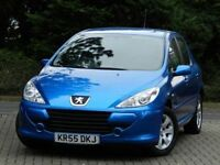 STUNNING 2005 PEUGEOT 307 S 1.6 5DR - LOW MILEAGE - FULL SERVICE HISTORY -MOT 12 MONTHS
