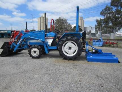 * MITSUBISHI 25HP TRACTOR PACKAGE *