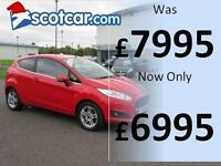 FORD FIESTA 1.2 £30 PER ANNUM ROAD TAX, FULL SERVICE HISTORY