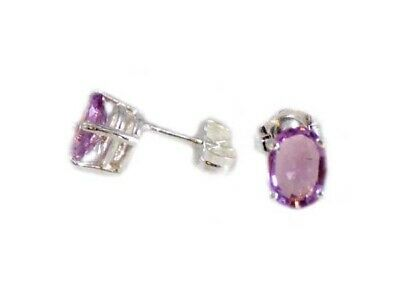 Amethyst Earring Ancient Celtic Talisman 19th Century Antique Gemstone Scotland