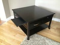 Beautiful SOLID wood coffee and end table