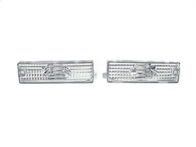 (DEPO Euro Clear Front Bumper Side Marker Lights for 1998-2002 Pontiac Firebird)