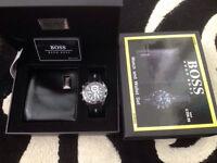 Designer watch and wallet