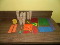 Classic Tinker Toy construction set 310 pieces