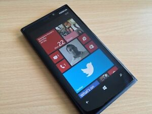 Nokia Lumia 920 black mint condition unlocked needs battery