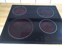 **ELECTROLUX**ELECTRIC HOB**CERAMIC 4 RING**ONLY £60**BARGAIN**DELIVERY**MORE AVAILABLE**
