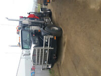 2001 KENWORTH T800 WITH PALFINGER PK4500C CRANE