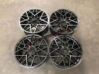 "19 20"" Inch BMW 813 Style Alloy Wheels E90 E92 E93 F10 F11 F30 F31 F32 F36 1 3 4 5 series 5x120"