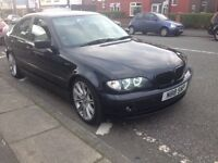 Swap 2003 BMW 320d t&t private plate lowered alloys