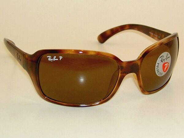 Ray-Ban RB4068 - HAVANA Frame CRYSTAL BROWN POLARIZED Lenses