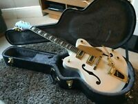 Gretsch G5422TDCG Electromatic Hollow Body Double Cutaway Snow Crest White