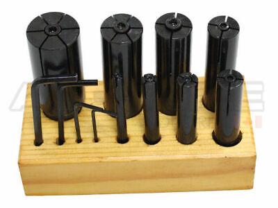 8 Pcs Hand-expanding Arbor Set In Wooden Block 6931-0900