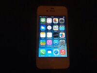 apple iphone 4, 8GB in white. (grade b condition)
