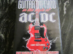 AC/DC ...GUITAR METHOD in the style of DVD + BONUS DVD
