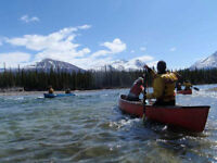 First Canoe Class only One Week Away with Tatshenshini Exp!!