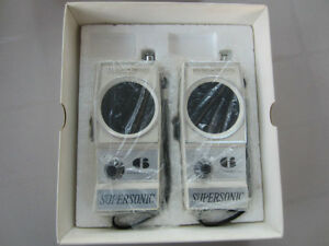 Walkie-Talkies Vintage Supersonic WT-600 West Island Greater Montréal image 3
