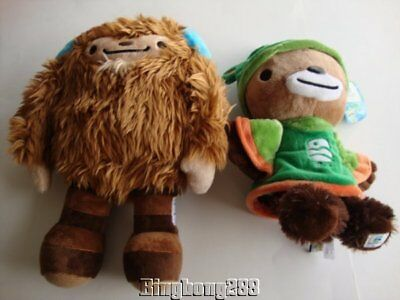 Vancouver 2010 Olympic & Paralympic Games QUATCHI & SUMI Plush Mascot - NEW for sale  Canada