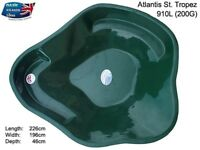 Atlantis St Tropez Fibreglass Preformed Pond 910 Litres/ 200 Gallons Collection Only