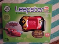 Disney CARS special edition leaps tee 2 learning game system by