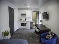 NEW STUDIO FLATS £600 PER MONTH INCLUDES (GAS,WATER, ELECTRICITY,TV LICENCE,INTERNET