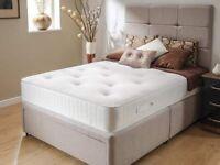 Double or Kingsize luxurious memory foam mattress