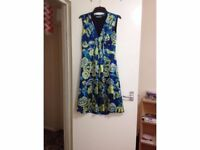 NEW Jigsaw pure silk patterned dress ONLY £20 NOW