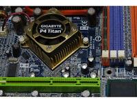 Gigabyte P4 Titan GA-8PE800 MOTHERBOARD PRO BOARD 478 PIN