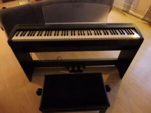 PIANO YAMAHA P105 & P115 LOCATION/RENTAL