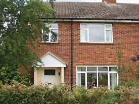 3 bedroom semi-detached house with enclosed rear garden and front garden