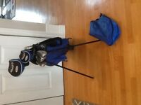 Junior Callaway golf set and callaway golf shoes size 7