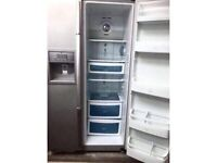 **++**DAEWOO SILVER AMERICAN SIDE BY SIDE ICE DISPENSER REFRIGERATOR INCLUDES 6 MONTHS GUARANTEE