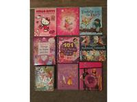 Girls Books - Disney, princess, hello kitty, fairies