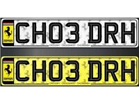 CHOUDHRY PRIVATE REGISTRATION REG NUMBER NUMBER PLATE VEHICLE REGISTRATION - REG'S FROM 399