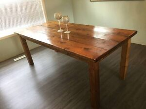 Gorgeous custom made dining room table