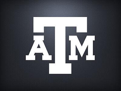 Texas A&M Aggies Decal Sticker Window Vinyl